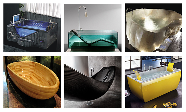 Innovative Extraordinary Bathtubs